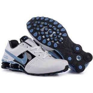 Discover the Women's Nike Shox OZ Shoes White/Black/Light Blue Cheap To Buy  collection at Jordanremise. Shop Women's Nike Shox OZ Shoes White/Black/Light  ...