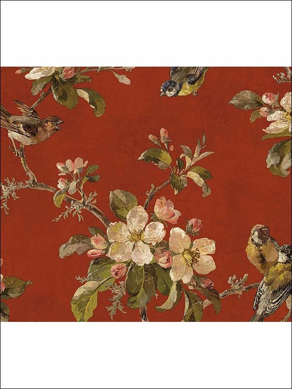 Wallpaperstogo WTG 014934 Kathy Ireland Traditional Wallpaper