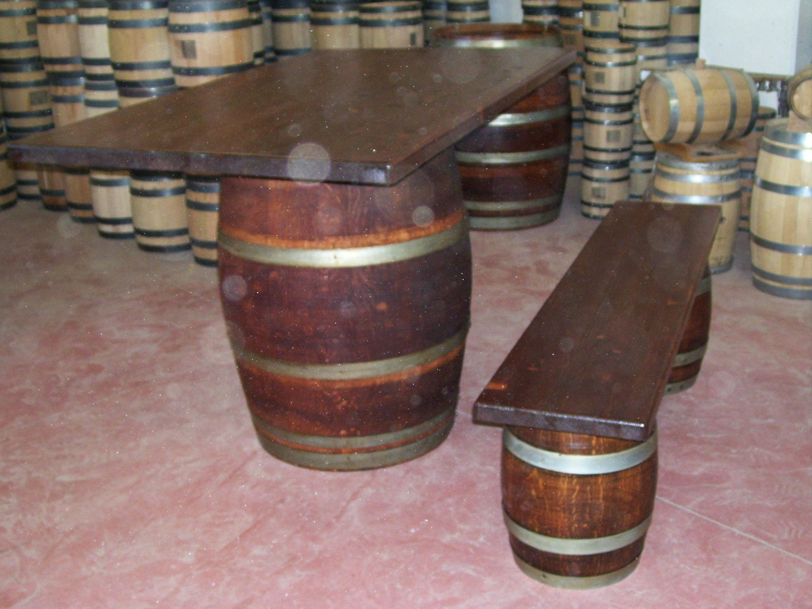 1283 Tavolo da birreria e osteria da 1,5 metri con