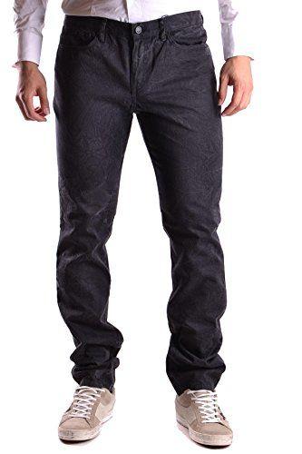 GIVENCHY Givenchy Men'S Mcbi137008O Black Cotton Jeans. #givenchy #cloth #