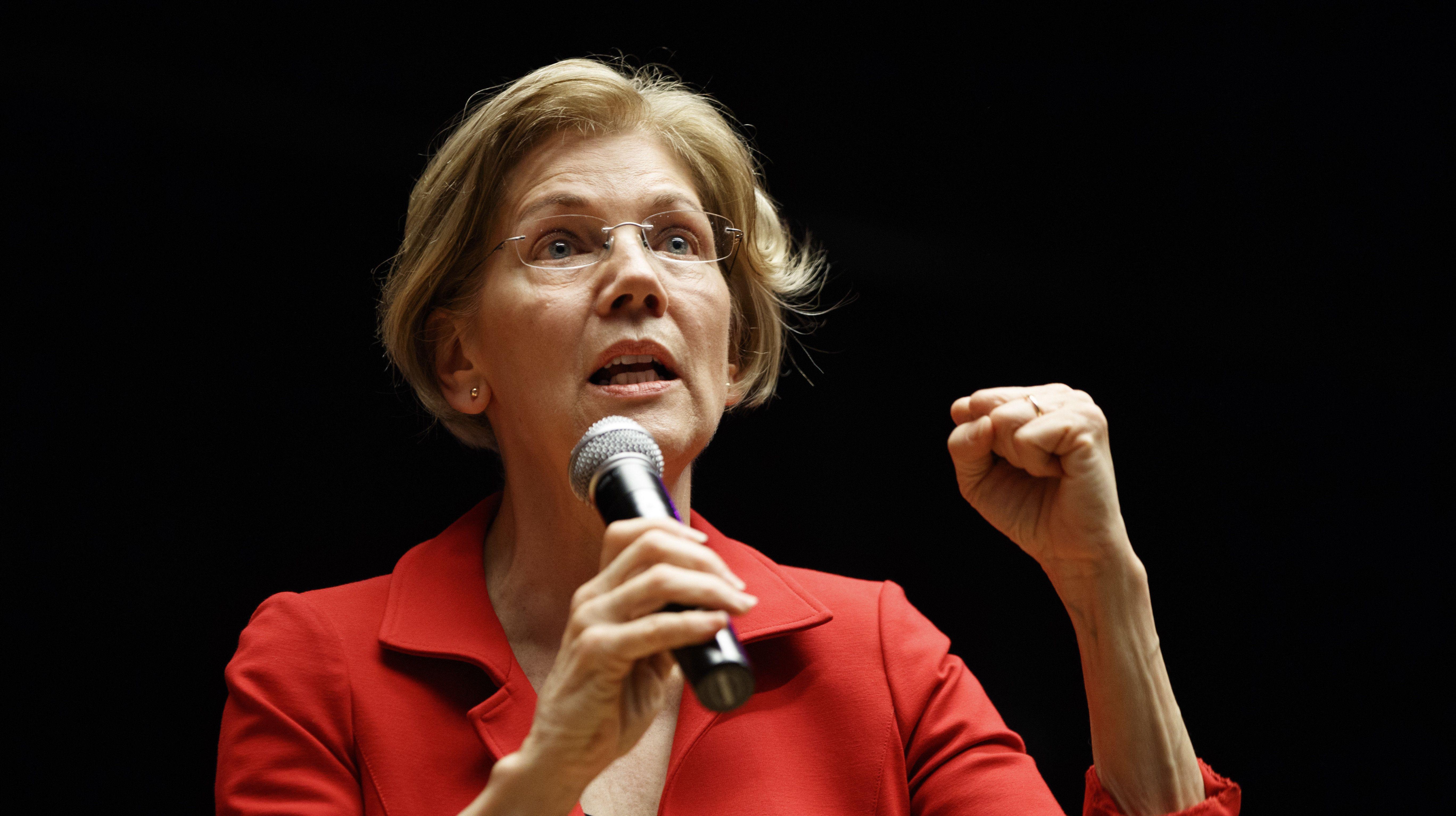 ICYMI Elizabeth Warren Gives Speech On 'Pocahontas' As