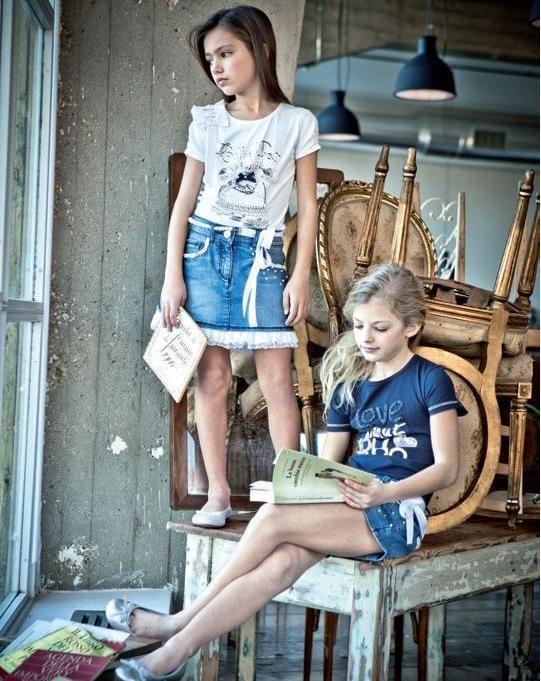 ALALOSHA: VOGUE ENFANTS: Модницы - красавицы в коллекции FW2012