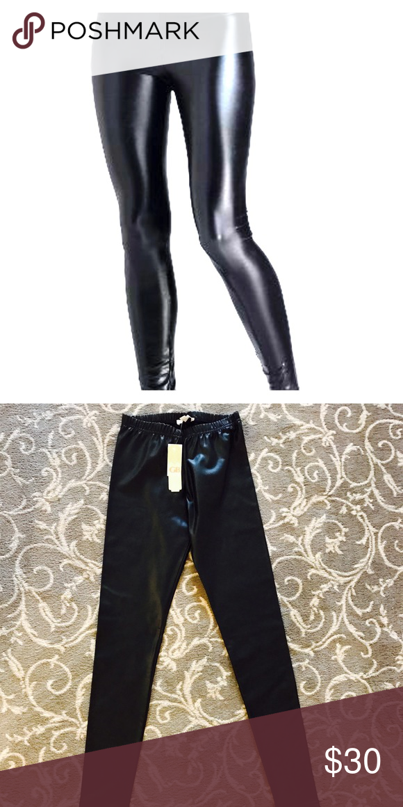 d82341d61bf69 Gianni Bini Faux Leather Leggings NWT Gianni Bini Pants Leggings ...