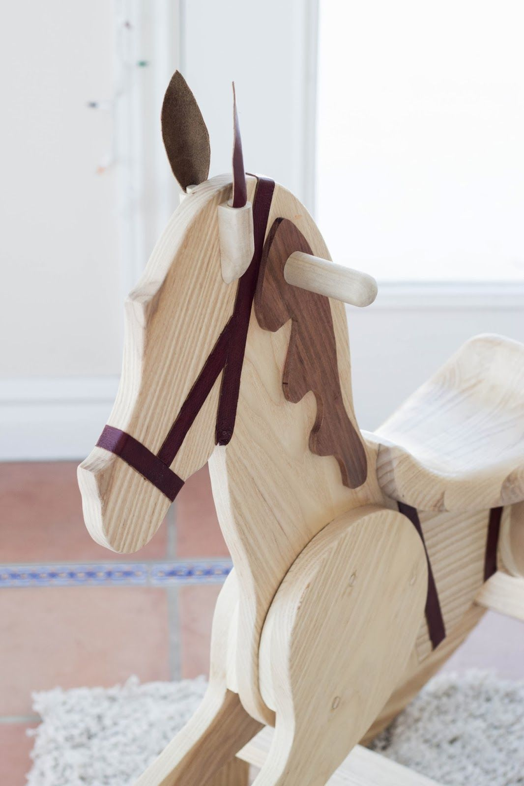 Wooden horse patterns - Diy Rocking Horse Looks Just Like Aj S Sans Eyes