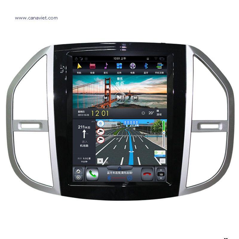 Tesla Vertical Screen Android Autoradio Car Multimedia