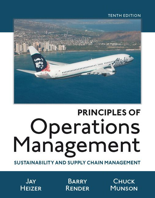 principles of operations management sustainability and supply chain