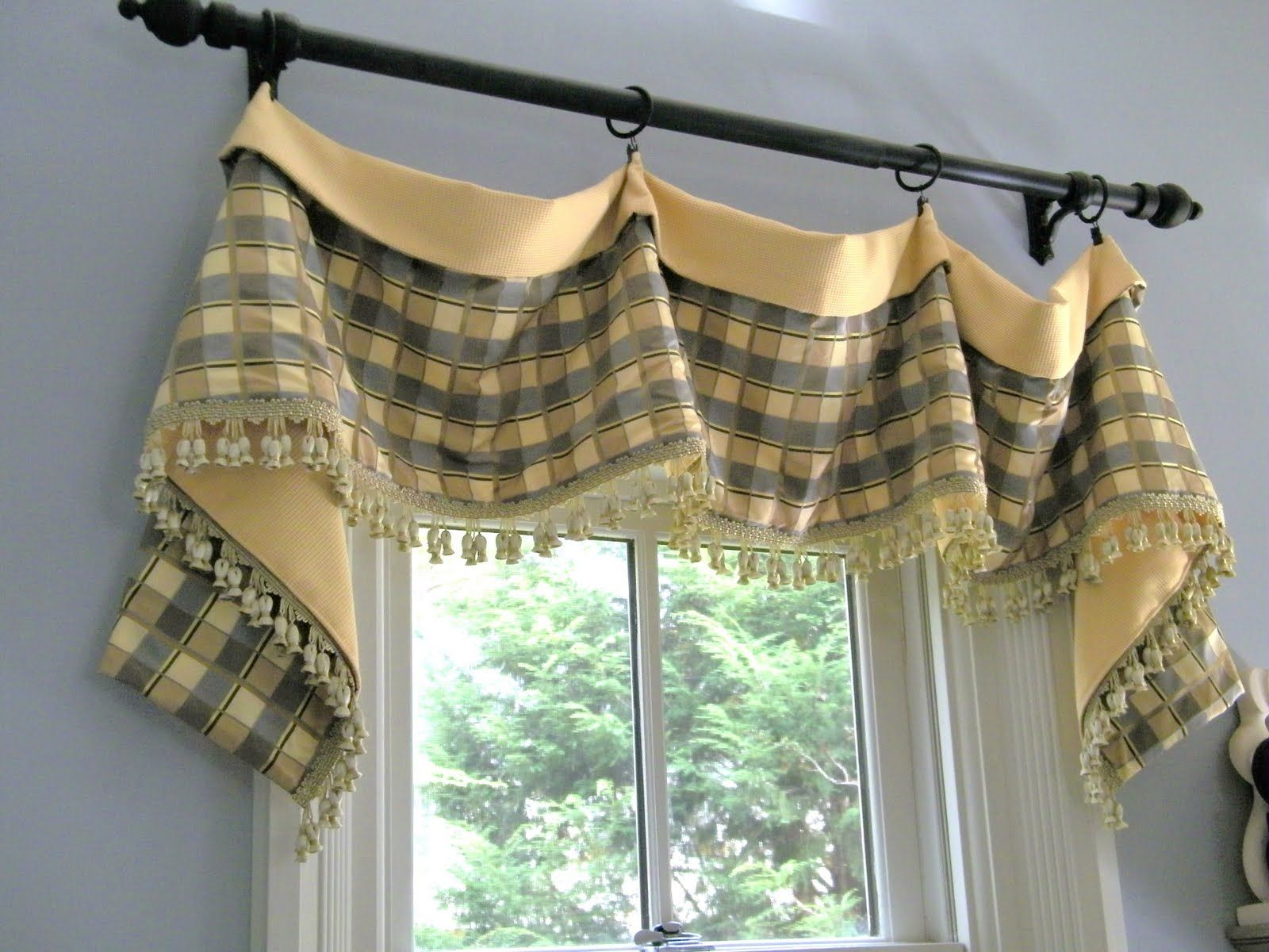 casual drapery ideas - Google Search | Window Treatments | Pinterest ...