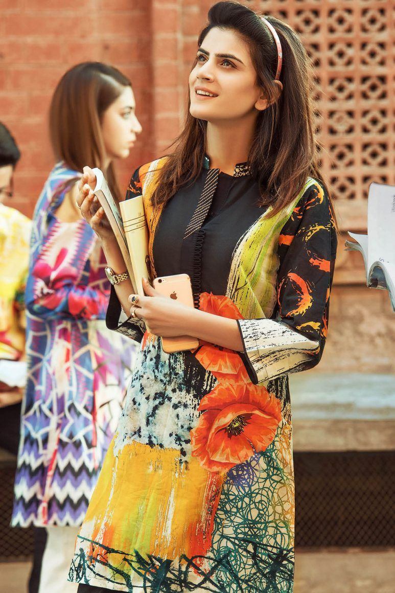 979d999817 Latest Ladies Summer Shirts Gul Ahmed Yolo Collection 2018-2019 ...