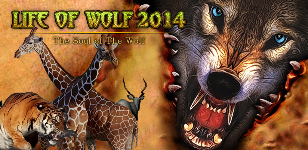 Life Of Wolf 2014 v1.1 MOD APK Life, Animal games, Wolf