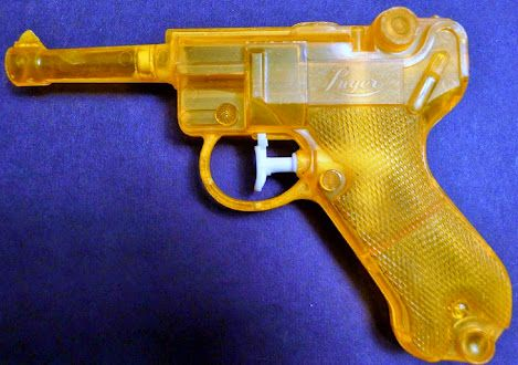 "I remember kids ""smuggling"" these into school and charging others a few $$ to buy them.  I bought one from a kid and then lost it an hour later when the teacher found out  lol :(  80s fun,  80s water gun"