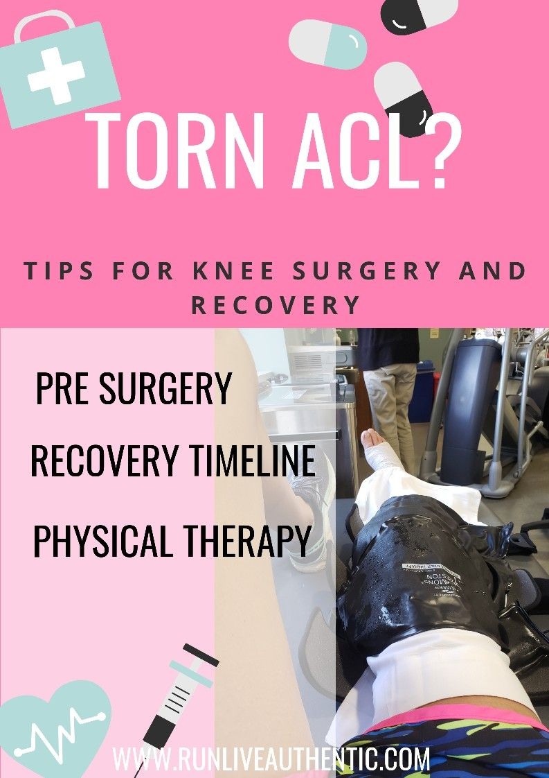 Torn ACL? Tips for knee surgery and recovery Acl tear