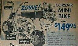 Corsair Minibike