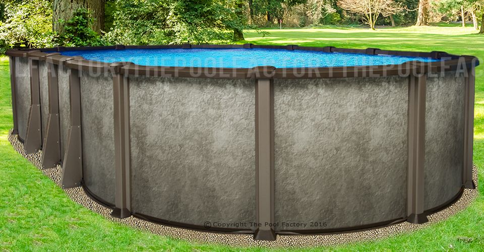 21 X43 X54 Quot Saltwater Lx Oval Pool Oval Pool In Ground