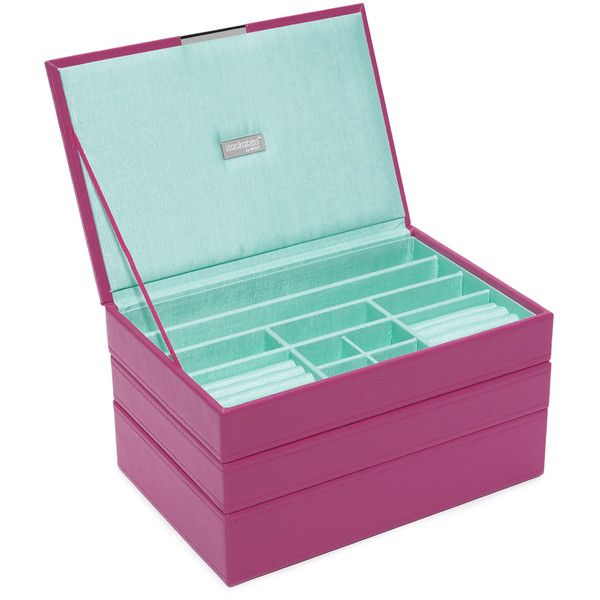 Stackable Boxes Home Decor Gift Boutique Wolf Medium Stackable Tray Set 5730 Inr ❤ Liked