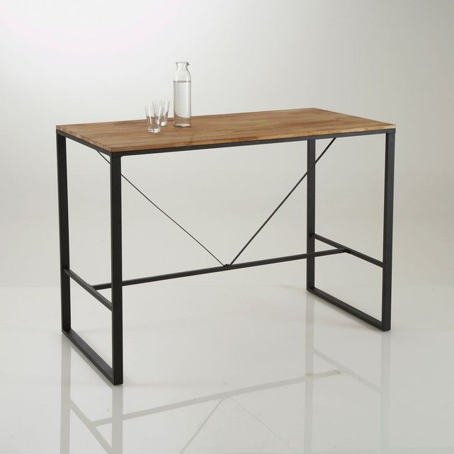 Table Bar Haute Hiba Table De Bar Haute Tables De Bar Et Table - Table extensible la redoute pour idees de deco de cuisine