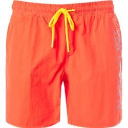 Photo of Napapijri swimming shorts men, microfiber, orange Napapijri