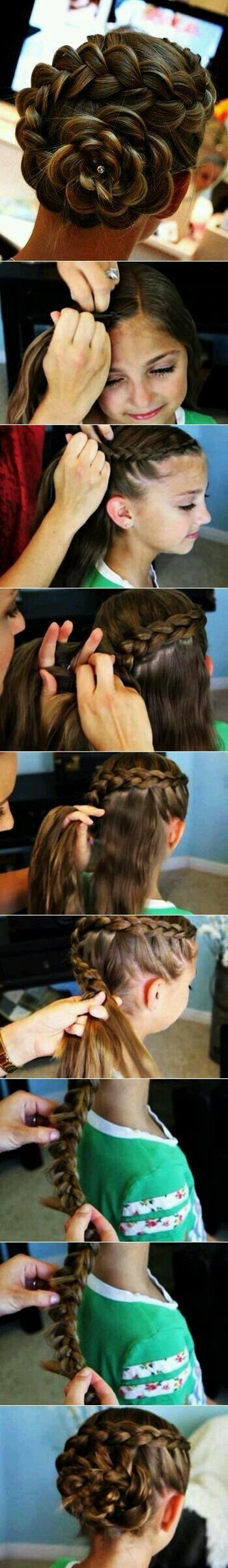 Pin by stacy on hairstyles pinterest gymnastics hair hair style