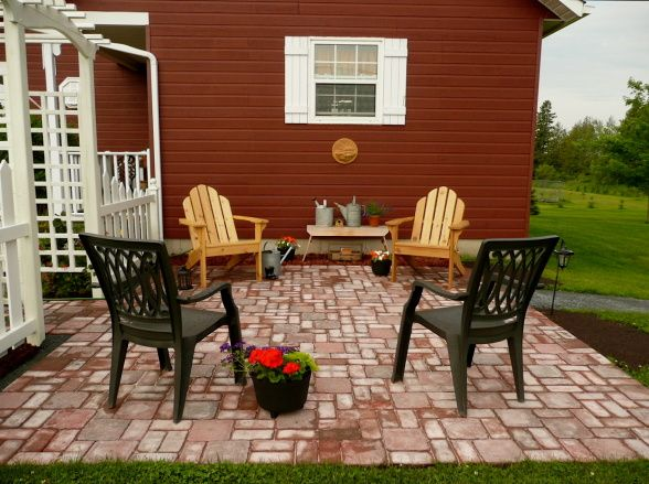 stone patio organic gardening pinterest stone patios and