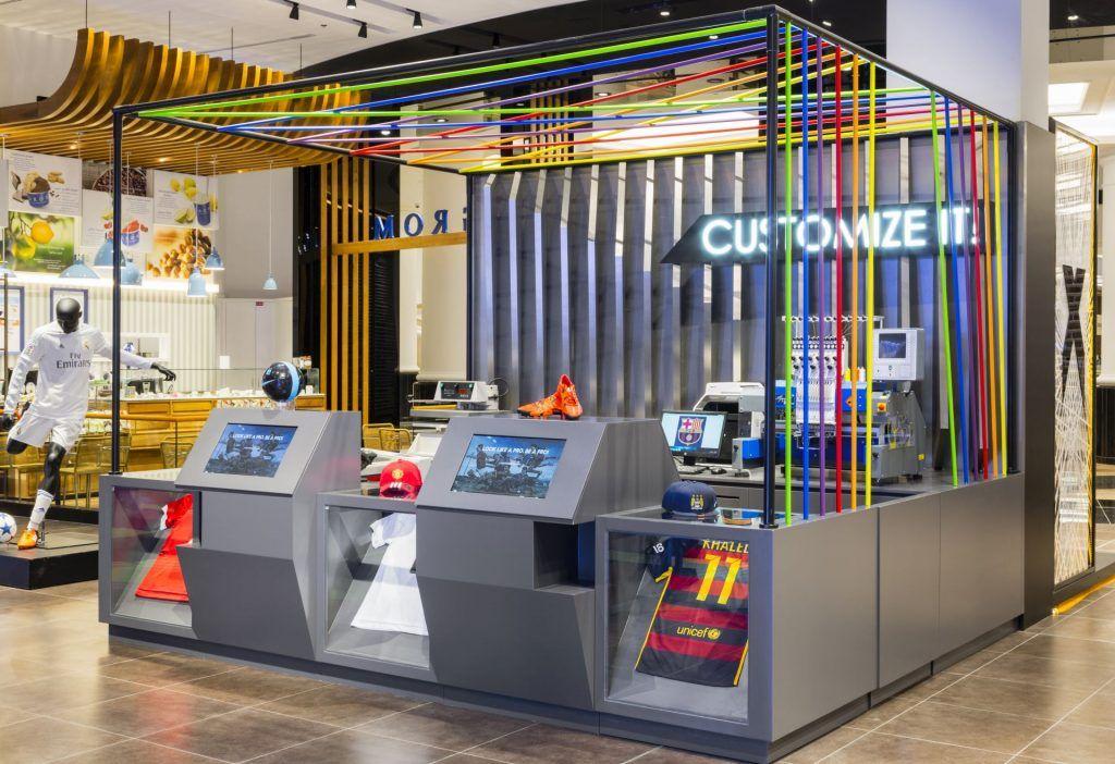 Retail Designs Go Sport, Mall of the Emirates Dubai en