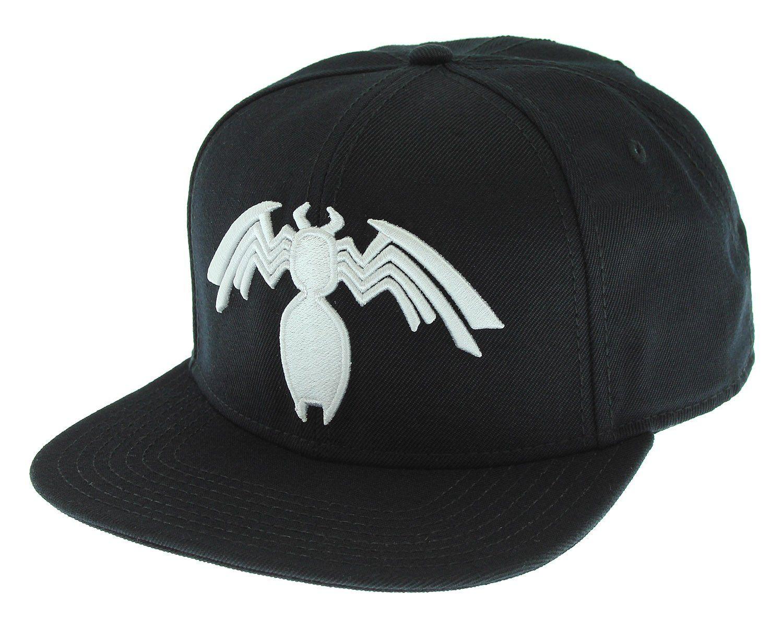 Marvel Comics Venom Symbiote Logo Licensed Adjustable Snapback Cap Hat Snapback Cap Snapback