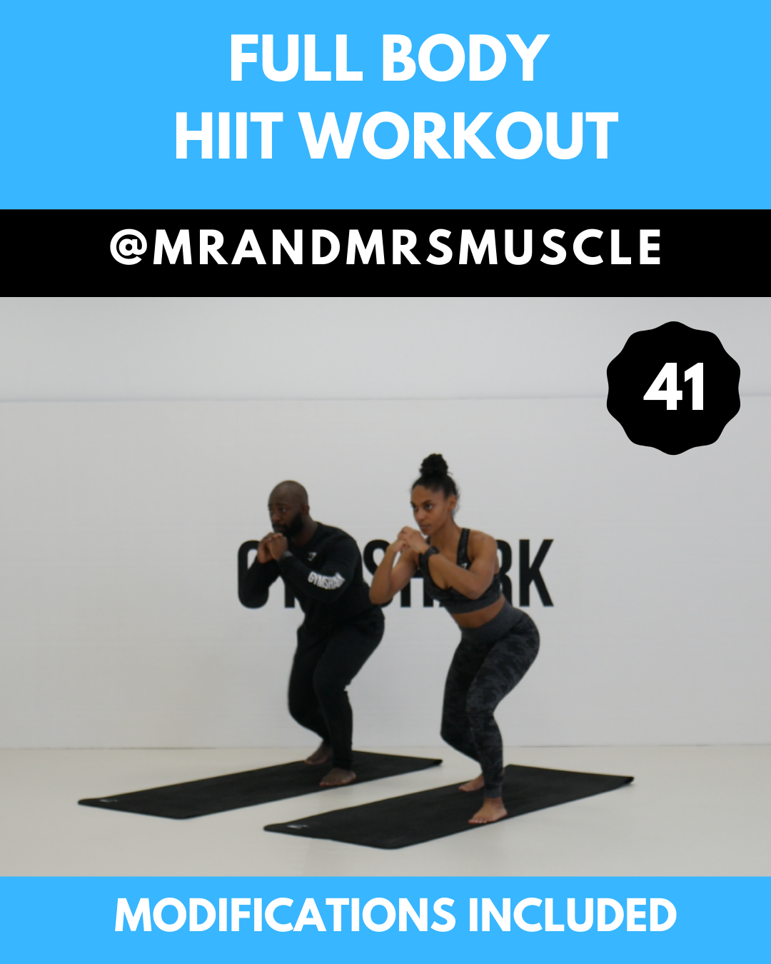 Full Body HIIT Workout #casa