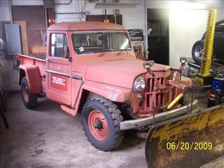 1961 Willys Jeep Pickup Before Restoration