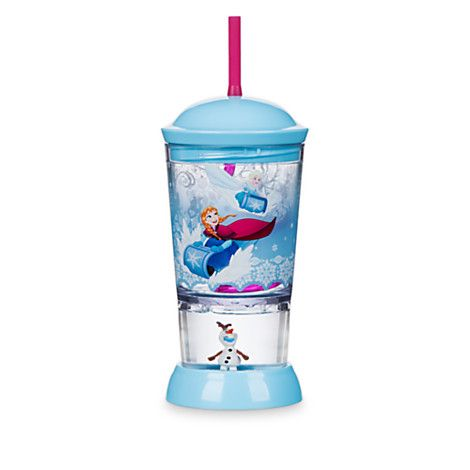 ccbeb82ab29 Frozen Snowglobe Tumbler with Straw | Awesome Bands | Disney ...