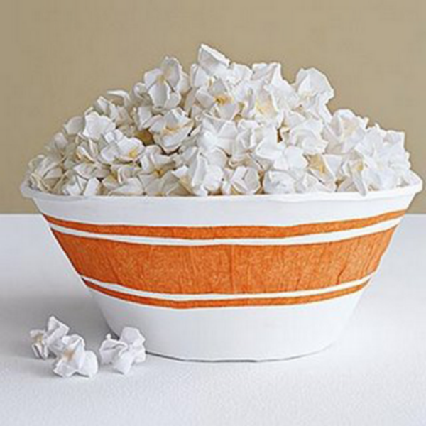 Origami Popcorn Food Sculpture Paper
