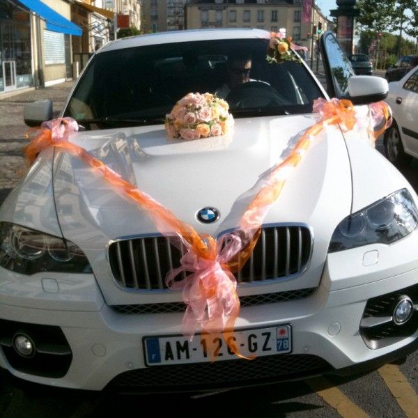 d coration voiture mariage bmw. Black Bedroom Furniture Sets. Home Design Ideas