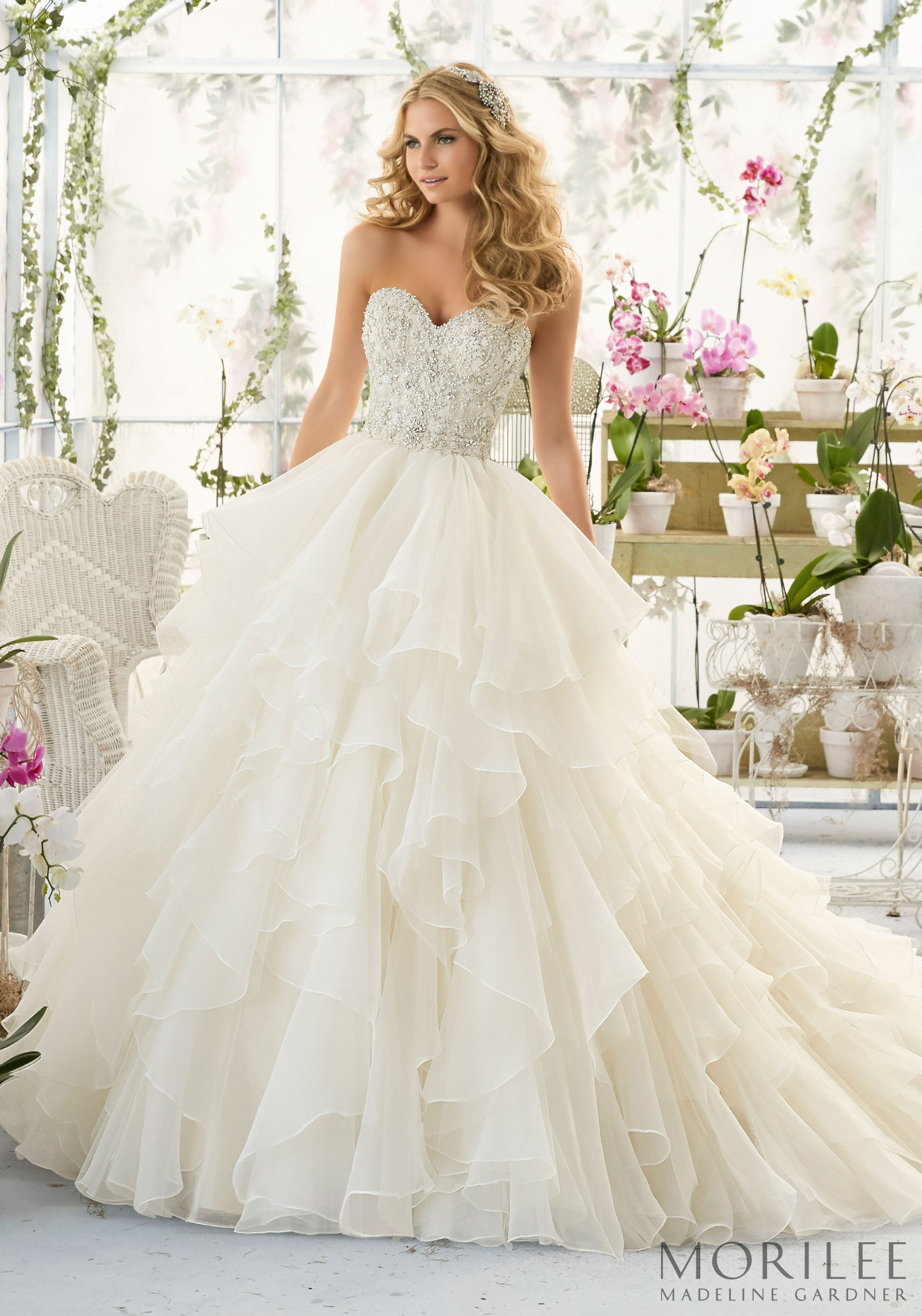 Morilee | Madeline Gardner Wedding Dress. Make the ultimate ...