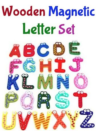 Wooden Magnetic Letter Sale $400 + FREE shipping! Baby gifts - letter of sale