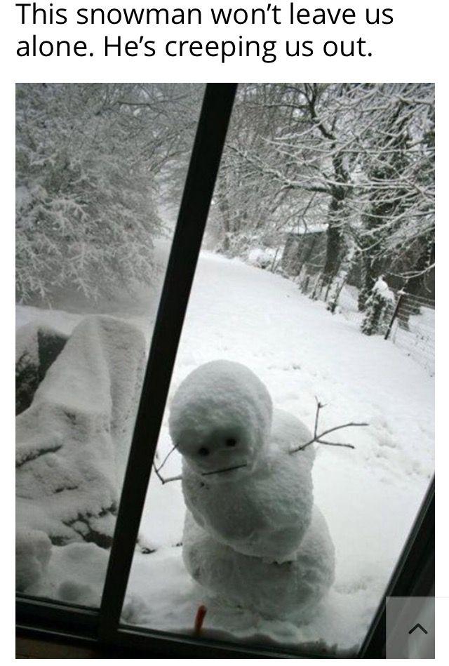 Too Cute Snowman!   iLoveToCreate  Snowman Too Much Snow