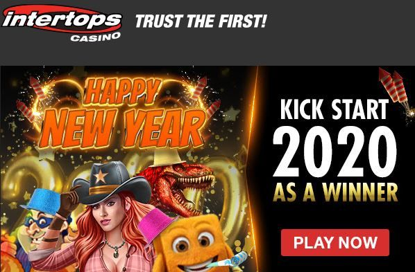 Intertops casino sign up and latest bonuses 2019. New Year bonuses