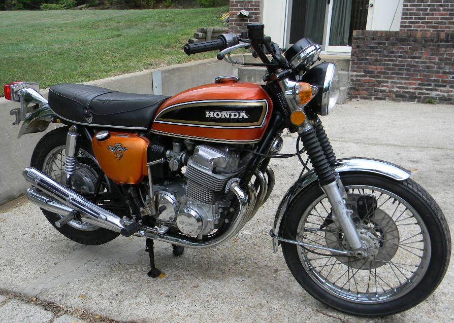 Honda 750 orange honda motorcycles pinterest honda 750 honda honda 750 orange publicscrutiny Choice Image