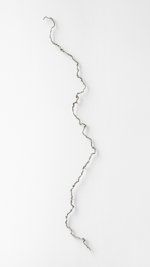 Maya Lin's sculpture of the Mississippi River, made of hundreds of pins!