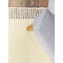 benuta wool carpet Liv Yellow 120×170 cm – natural fiber carpet made of wool benuta