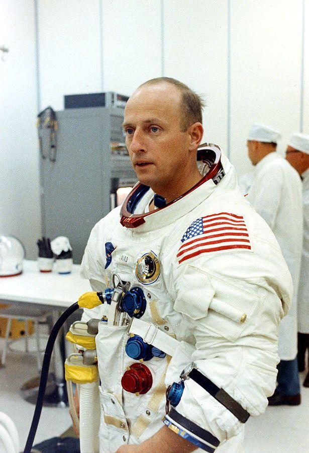 November 14 1969 Apollo 12 astronauts Dick Gordon Alan