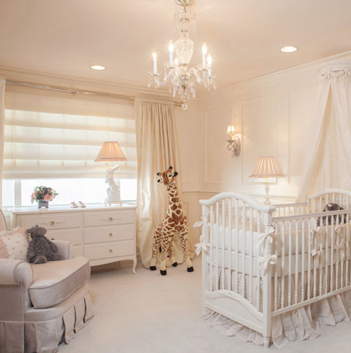 Soft Crème Baby Nursery Baby bedroom, Baby room decor