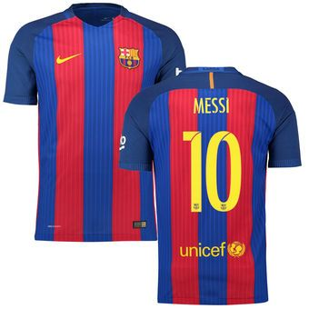 promo code baacc 4296f Nike Lionel Messi Barcelona 2016/17 Home Authentic Jersey ...