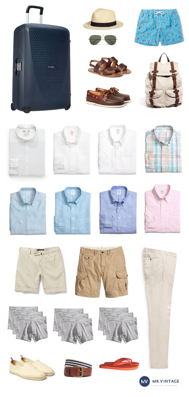 Mrvintage What To Pack For One Week Holiday Dapper Men 2016 Menswear Swag Men