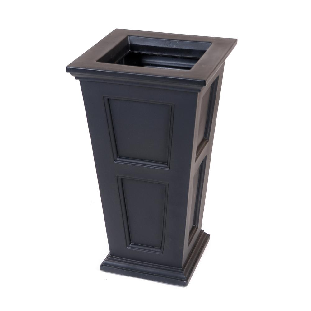Mayne Fairfield 40 In Black Plastic Planter In 2018 Products