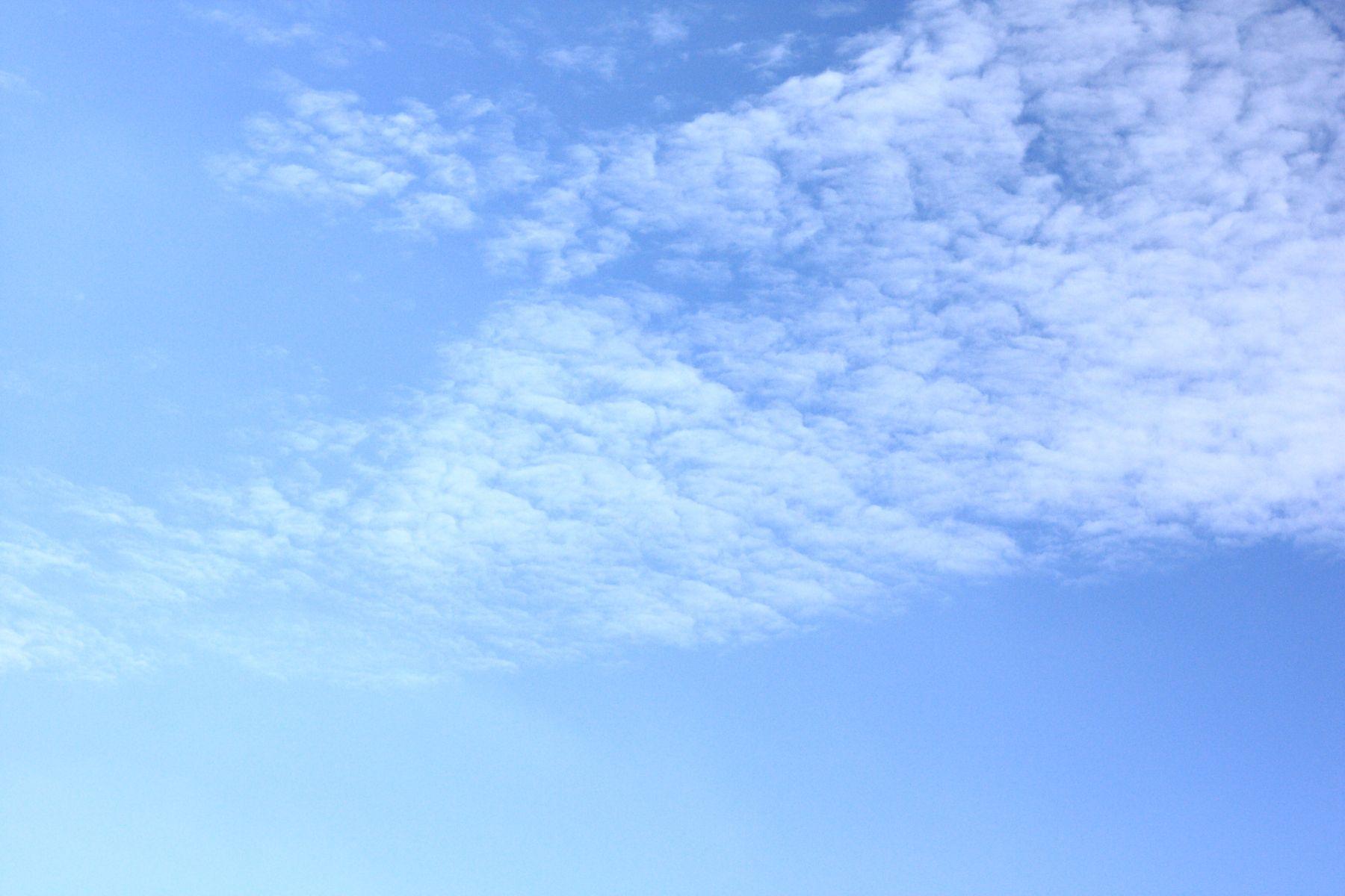 青空と鱗雲 ぺんたま フリー写真素材 無料ダウンロード
