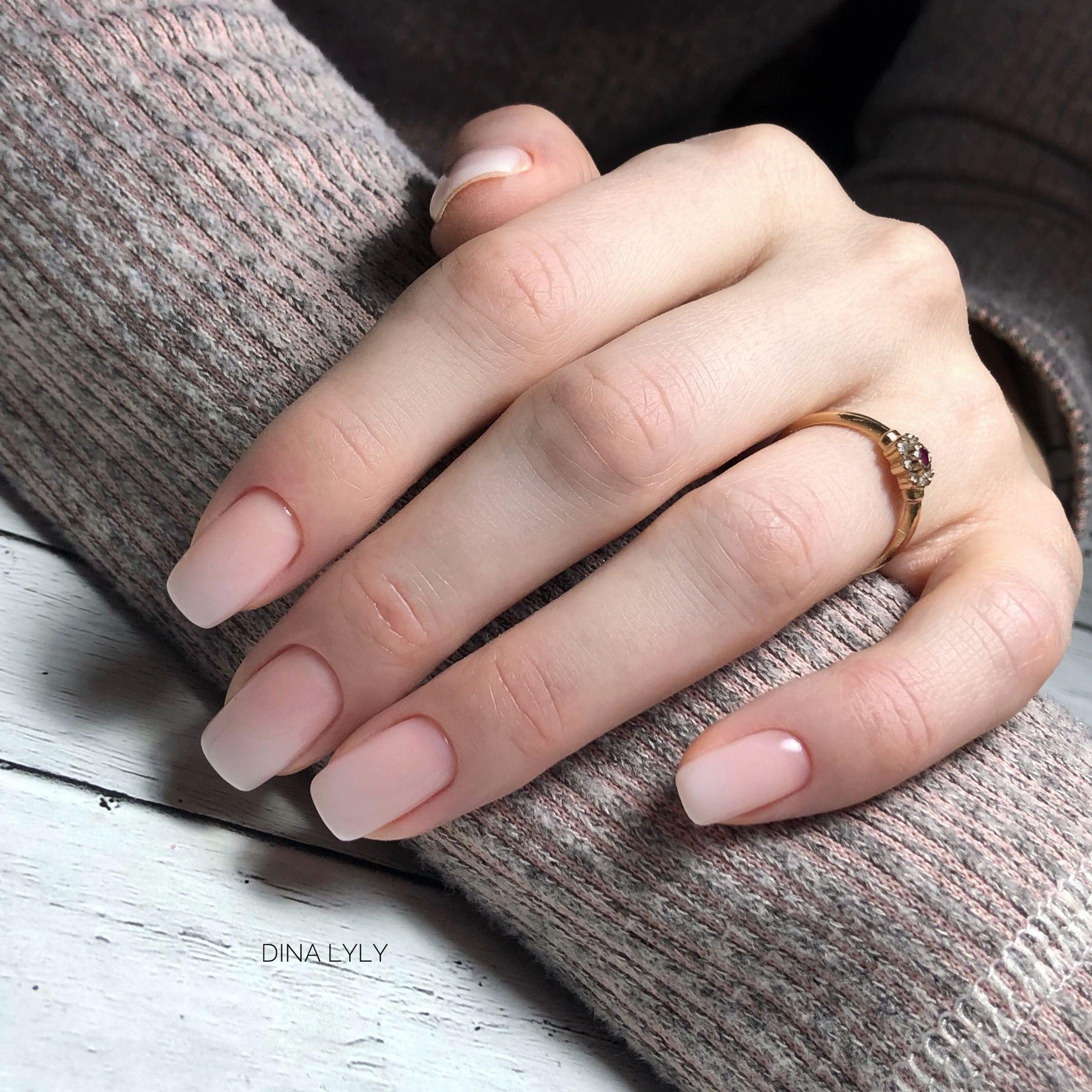 Удивительно нежный дизайн ногтей омбре