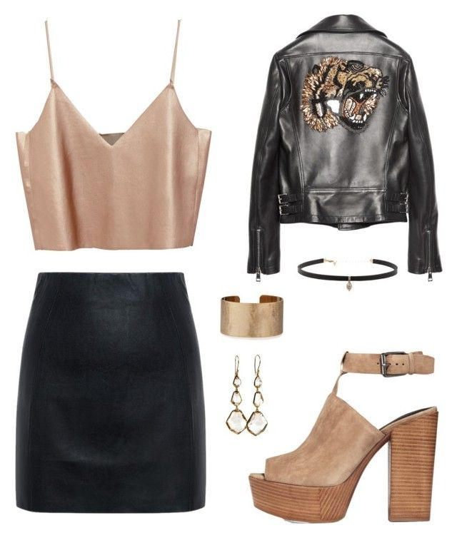 """""""🤘🏼🐯"""" by yoliredolat on Polyvore featuring moda, McQ by Alexander McQueen, Gucci, Rebecca Minkoff, Panacea, Carbon & Hyde y Ippolita"""