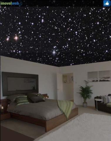 Decor Uma Galaxia Dentro De Casa Teto Estrelado Luzes De Teto