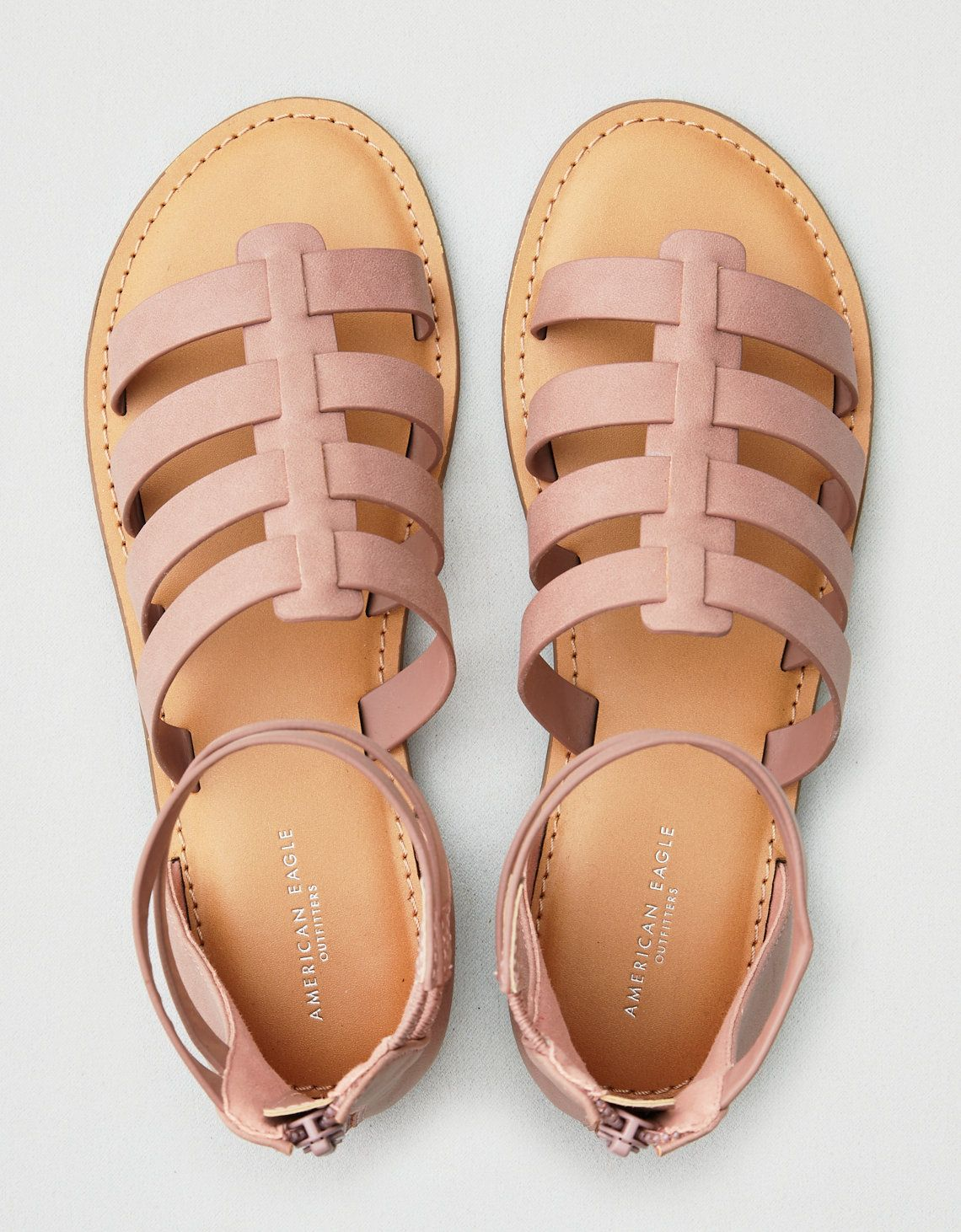 AEO Gladiator Sandal, Lavender   American Eagle Outfitters
