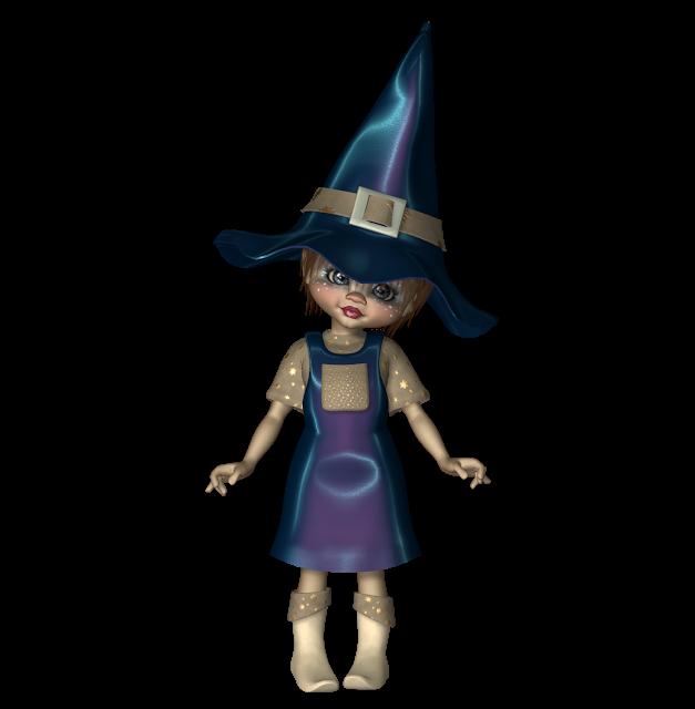 *Angie's Free Poser Tubes*: Tubes Kiki Witch 2