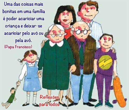 Avos Papa Francisco Dia Internacional Da Familia Dia Da Filha