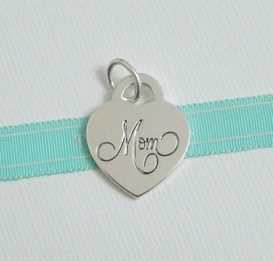 2073d47d8f67b Details about 925 Sterling Silver Talking Charm Pendant, Mom with ...