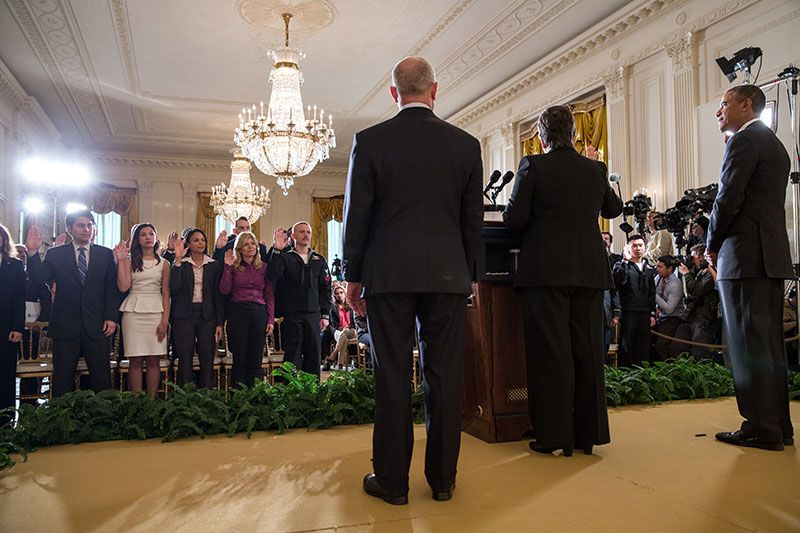 Tuesday's Information From Barack's House: Immigration Ceremony, White House Schedule, ICYMI & More.